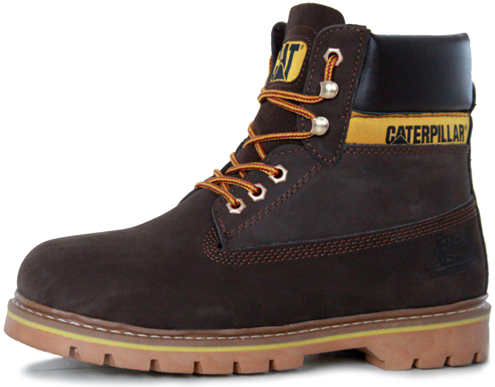 "Мужские ботинки Caterpillar Colorado Winter Boots ""Brown"" с мехом, 42"