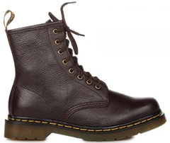 "Женские ботинки Dr. Martens 1460 Brown Smooth ""Vegan"", 40"