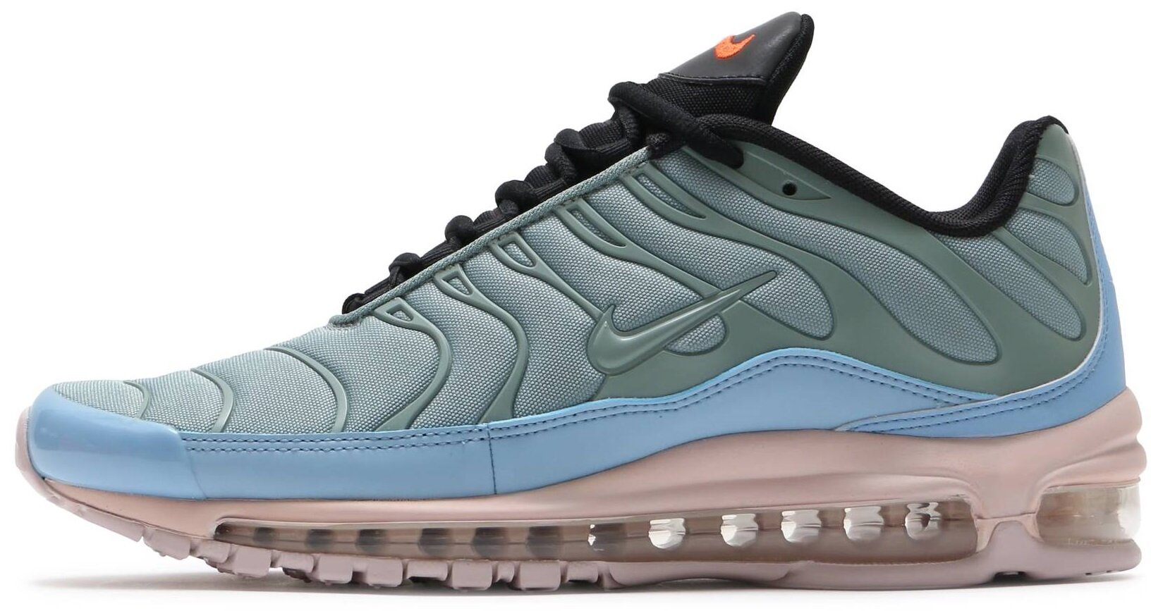 "Кроссовки Nike Air Max 97/Plus ""Mica Green/Barely Rose-leche Blue"", 40"