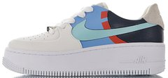"Женские кроссовки Nike Air Force 1 Sage Low LX ""Platinum Tint / Light Aqua-Obsidian"", 40"