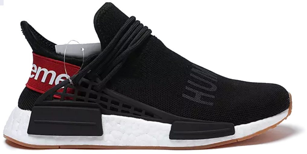 "Мужские кроссовки Adidas NMD Pharrell Williams Human Race Supreme ""Black"", 44"