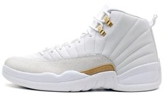 "Кроссовки Air Jordan 12 Retro OVO ""White"" 873864-102, 46"