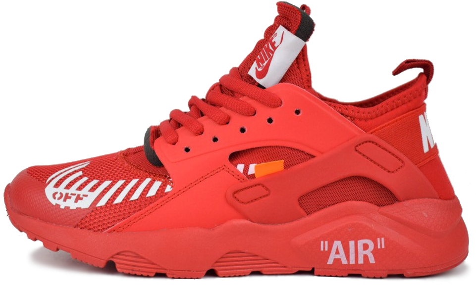 "Мужские кроссовки Off-White x Nike Air Huarache Ultra ""Red"", 45"