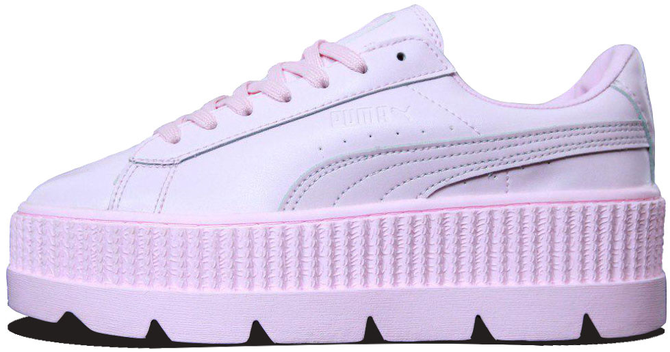 "Женские кроссовки Rihanna x Puma Fenty Cleated Creeper ""Pink"", 39"