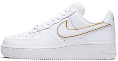 Женские кроссовки Nike Air Force 1 Low Icon Clash White Metallic Gold AO2132-102, 40