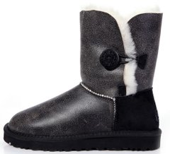 "Женские угги UGG Bailey Button Bomber ""Grey"", 40"