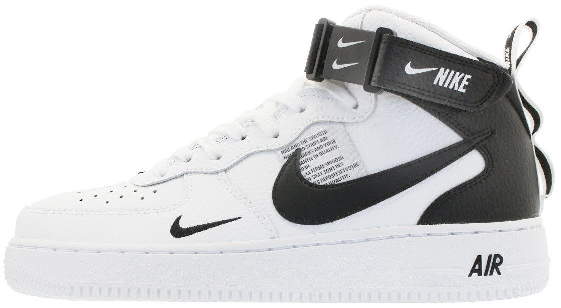 "Кроссовки Nike Air Force 1 Mid 07 LV8 Utility ""White"" 804609-103, 39"