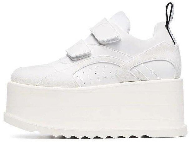 Женские кроссовки Stella McCartney Eclypse Platform Sneakers White, 41