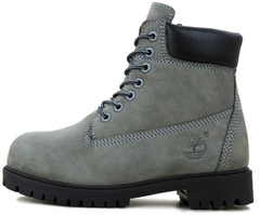 "Зимние ботинки Timberland 6-Inch Winter ""Grey/Black"" с мехом, 45"