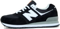 "Кроссовки New Balance 574 ""Black/White"", 44"