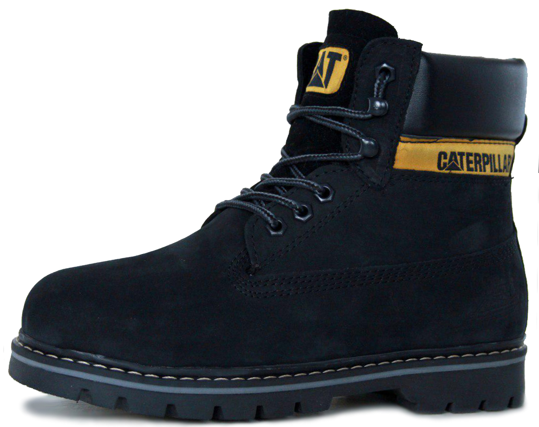 "Мужские ботинки Caterpillar Colorado Winter Boots ""Black"" с мехом, 45"