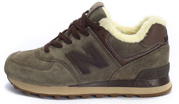 54f6876ad Мужские кроссовки с мехом New Balance ML574TA Winter Wool