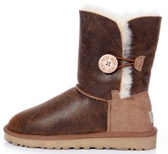 "Женские угги UGG Bailey Button Bomber ""Chocolate"", 41"
