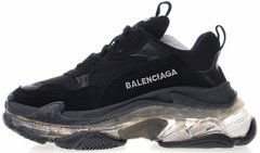 Кроссовки Balenciaga Triple S Clear Sole Black, 45