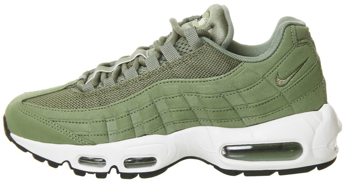 "93dcb4184d29 Женские кроссовки Nike Air Max 95 ""Palm Green"" Хаки F295 купить в ..."
