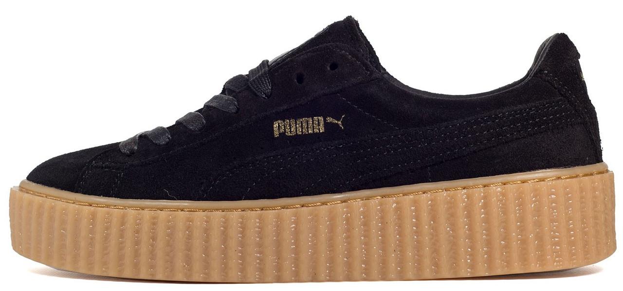a15261f9230e Женские кроссовки Rihanna x Puma Suede Creeper