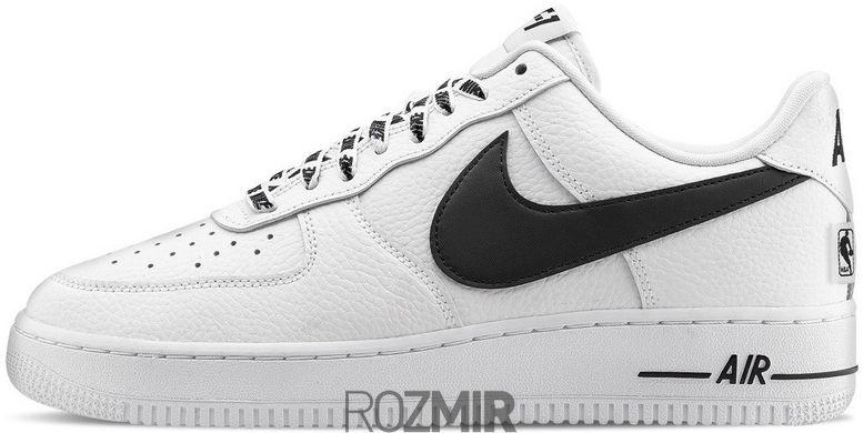 0c8ab0aa мужские кроссовки Nike Air Force 1 07 Lv8 Nba Pack Whiteblack