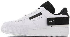 "Женские кроссовки Nike Air Force AF1-TYPE ""White/Black"", 40"