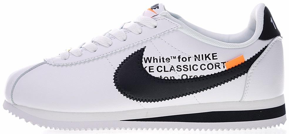 b59ca8e8 Женские кроссовки Off-White x Nike Cortez Белый S1635 купить в ...