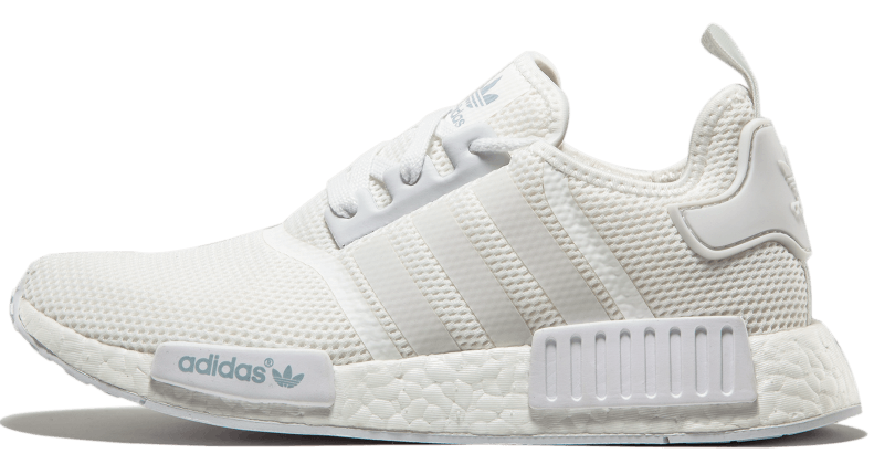 "Кроссовки Adidas Originals NMD R1 Monochrome Pack ""Triple White"", 42"