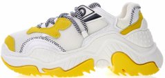 Женские кроссовки Nº21 Billy Sneakers White/Yellow, 39