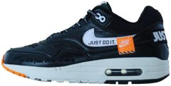 "Мужские кроссовки Nike Air Max 1 Lux ""Just Do It"" Black, 45"