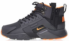 "Мужские кроссовки ACRONYM x Nike Huarache Concept ""Black/Orange"", 40"