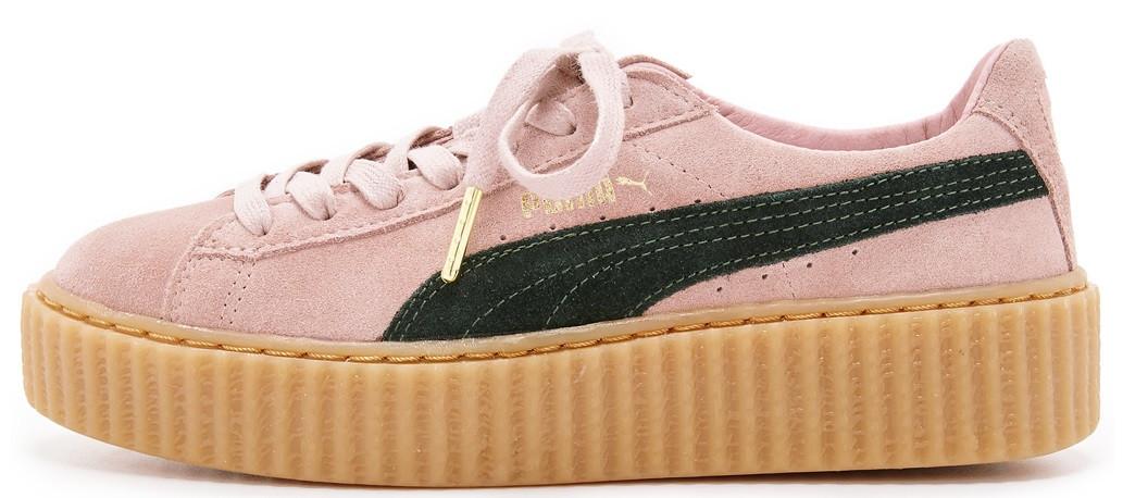 c2921539 Женские кроссовки Rihanna x Puma Suede Creeper