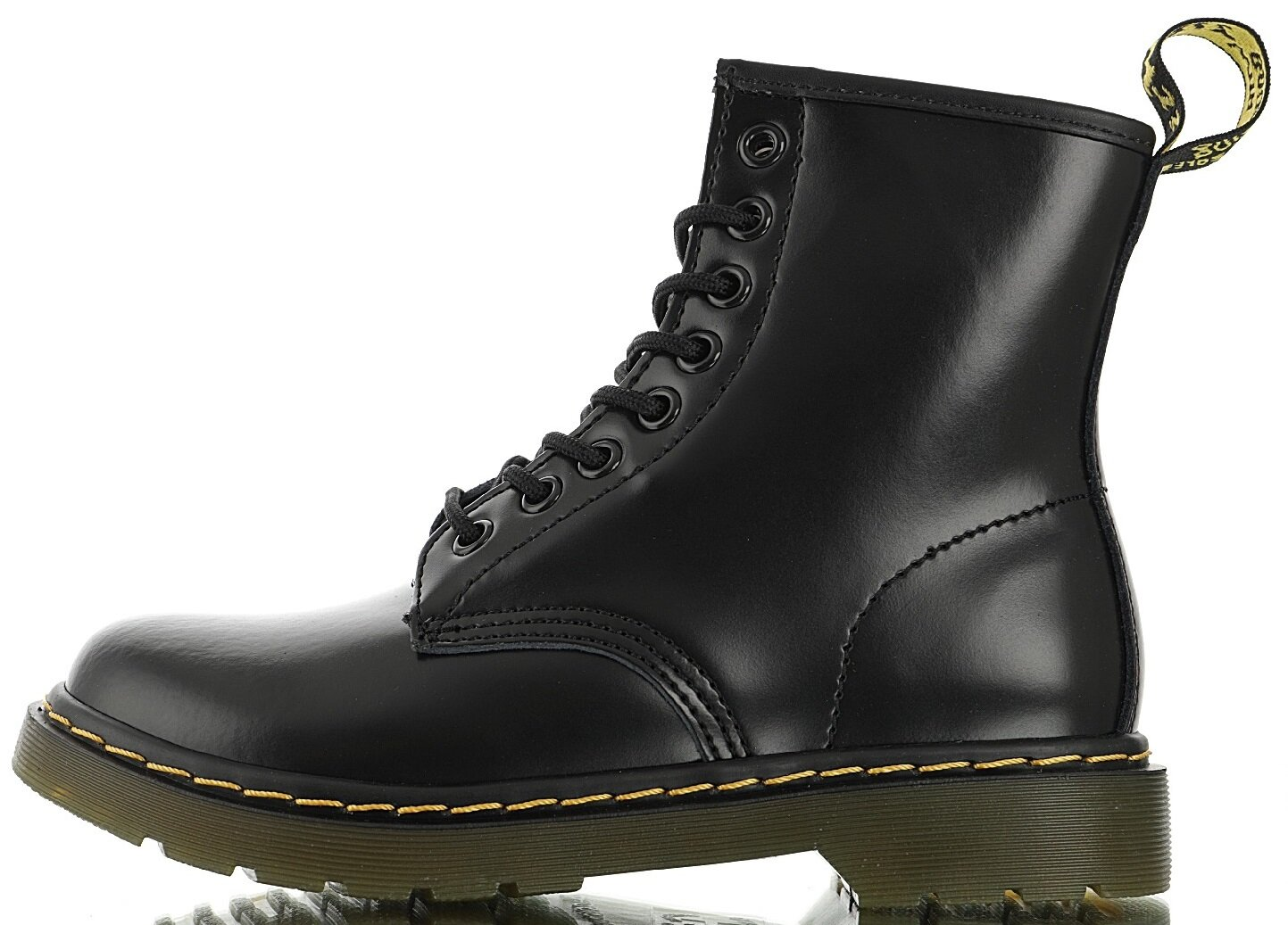 "Зимние ботинки Dr. Martens 1460 Winter Fur ""Black"" с мехом, 40"