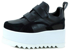 Женские кроссовки Stella McCartney Eclypse Platform Sneakers Black, 41