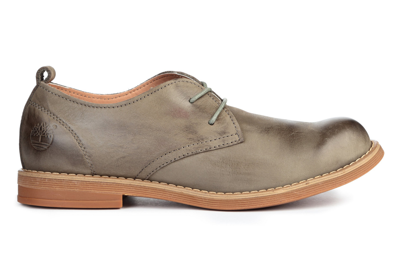 "Мужские туфли Timberland Hartwick Plain Toe Oxford ""Grey"", 44"