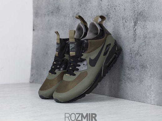 50a734f0 ... Мужские кроссовки Nike Air Max 90 Mid Winter Dark Loden 806808-300 ...