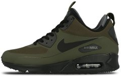 Мужские кроссовки Nike Air Max 90 Mid Winter Dark Loden 806808-300, 45
