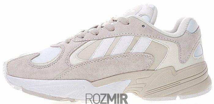 Купить Жіночі кросівки adidas Yung 1 Cloud White Сірий B37616 купити ... 0fb0a66d52847