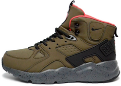 "Мужские кроссовки Nike Air Huarache Winter High Top ""Khaki"", 45"