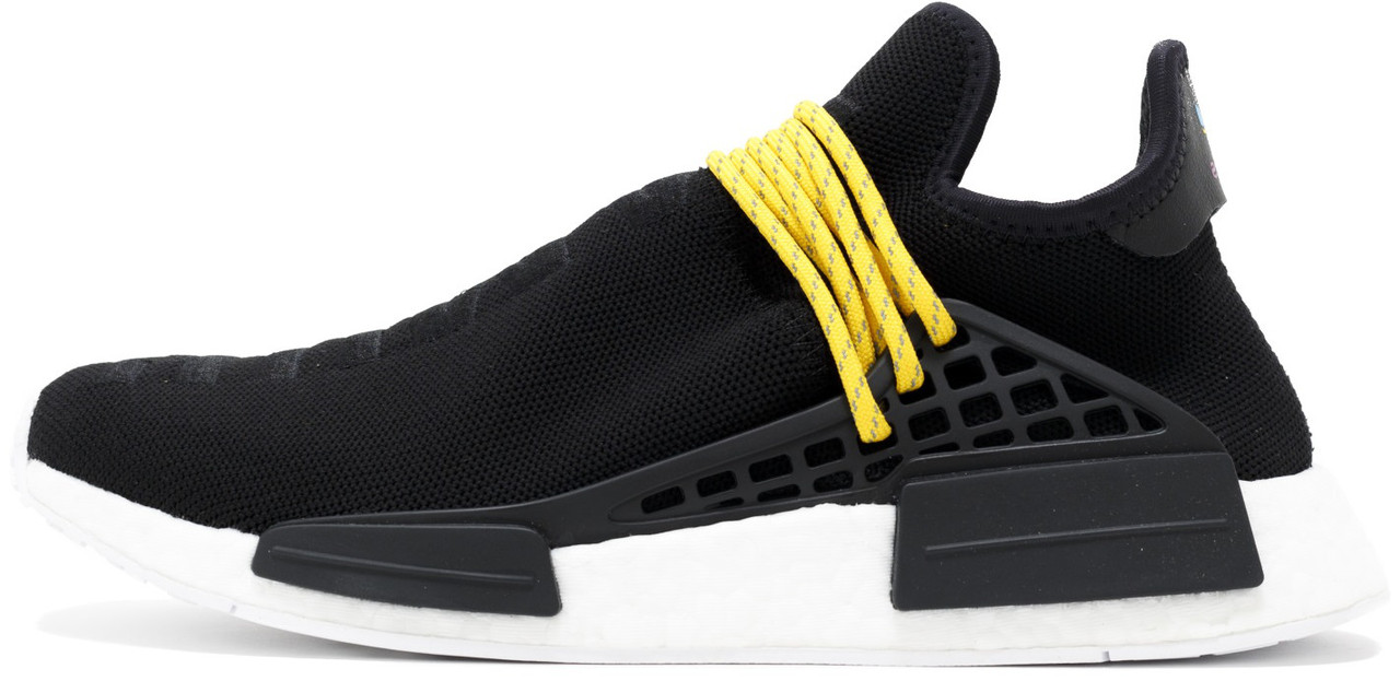 "Мужские кроссовки Pharrell Williams x adidas NMD Human Race ""Black"", 45"