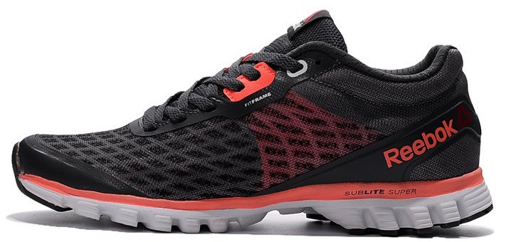 "Мужские кроссовки Reebok Sublite Super Duo ""Black/Red"", 41"