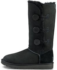 "Женские угги UGG Bailey Button Triplet ""Black"", 40"