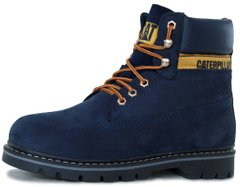 "Мужские ботинки Caterpillar Colorado Winter Boots ""Blue"" с мехом, 41"