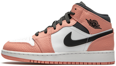 Кроссовки Air Jordan 1 Mid Pink Quartz 555112-603, 40