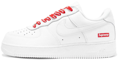 "Кроссовки Supreme x Nike Air Force 1 Low ""White"", 45"
