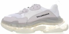 Кроссовки Balenciaga Triple S Clear Sole White, 44
