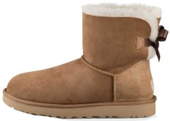 "Женские угги UGG Mini Bailey Bow ""Chestnut"", 40"