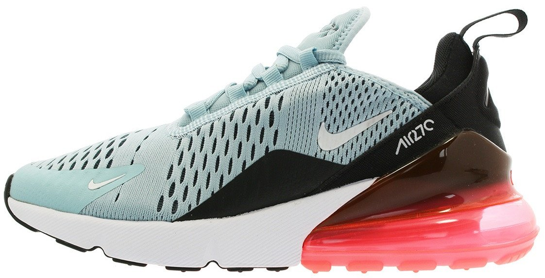 Женские кроссовки Nike Air Max 270 Ocean Bliss/White - Black - Hot Punch AH6789 400, 39