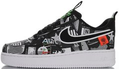"Кроссовки Nike Air Force 1 Low Worldwide ""Black/White"" CZ5927-001, 45"