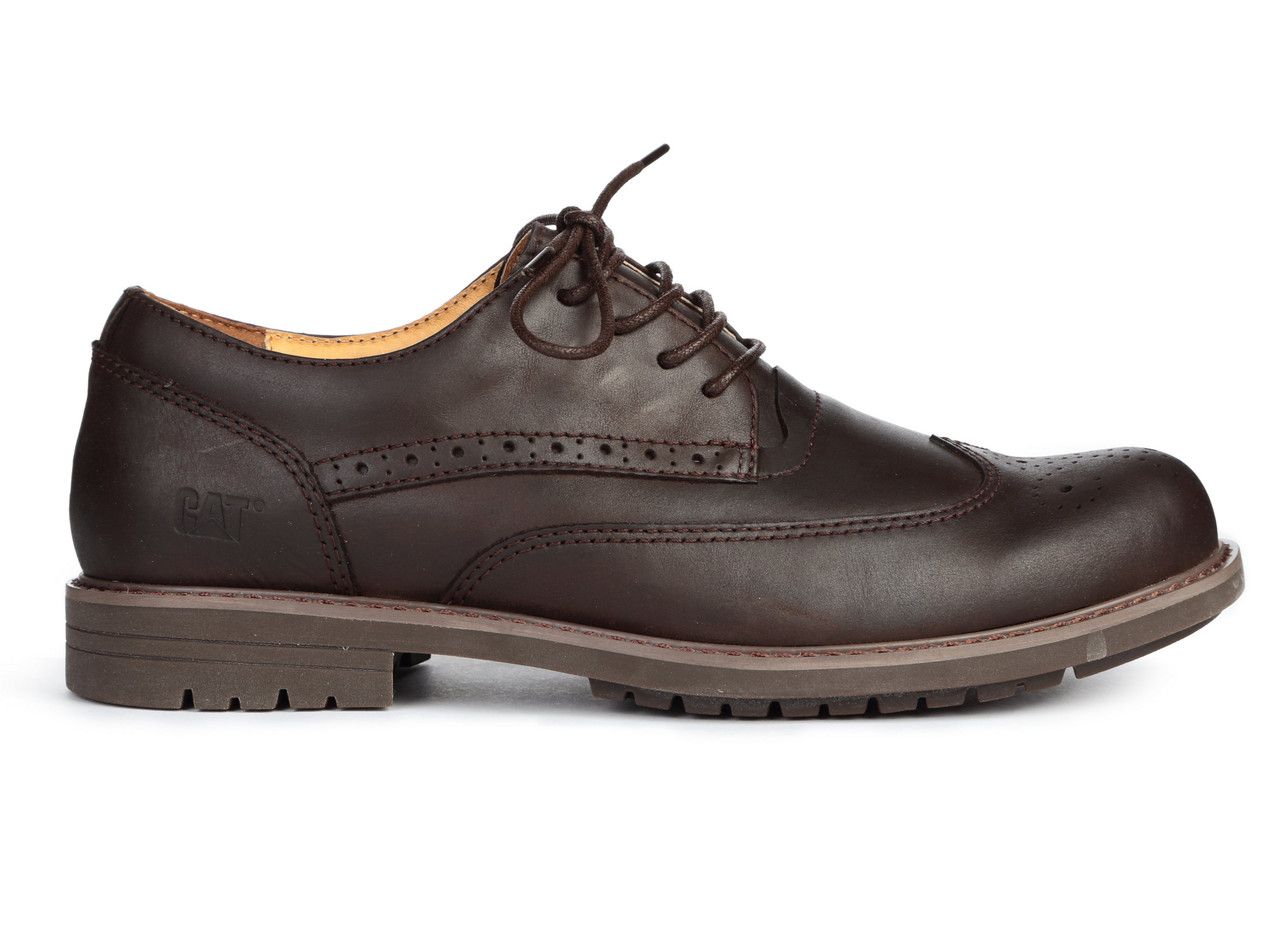 "Мужские туфли Caterpillar Oxford Borg ""Dark Brown"", 45"