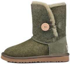 "Женские угги UGG Bailey Button Ripple ""Green"", 41"