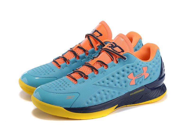 acc3503a Баскетбольные кроссовки Under Armour Curry One Low Blue Голубой ...