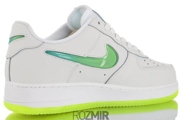 Кроссовки Nike Air Force 1 '07 Premium 2 Jelly Swoosh White/Volt AT4143-100, 42
