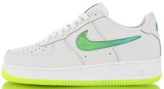 Кроссовки Nike Air Force 1 '07 Premium 2 Jelly Swoosh White/Volt, 42